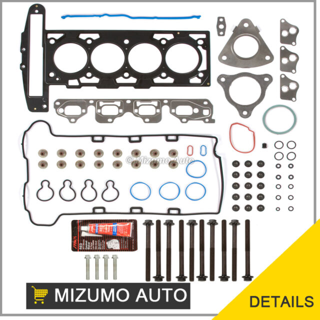 Fit 02-06 Chevrolet Oldsmobile Pontiac Saturn 2.2 F, D Head Gasket Set + Bolts