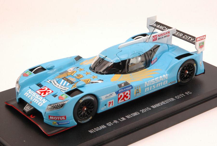 Nissan Gt-R Le Mans Nismo 2015 Manchester City Fc Version 1 43 Model 45251