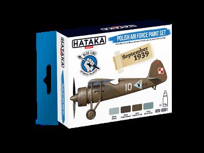 2019 Ultimo Disegno Hataka Polish Air Force Vernice Set (blu) Bs01 (nuovo Di Zecca)- Irrestringibile