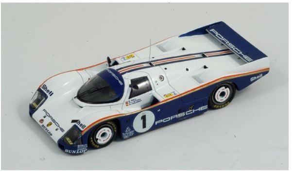 Porsche 962 - H. Stuck D.Bell A. Holbert - 1st 24h Le Mans 1986 Spark