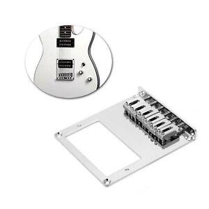 Humbucker-Guitar-Bridge-Roller-Saddle-6-corde-per-chitarra-Telecaster-cromata
