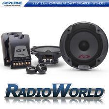 "Alpine SPG-13CS 5.25"" 13cm 2-Way Component Speaker System Set Car Audio 500W"