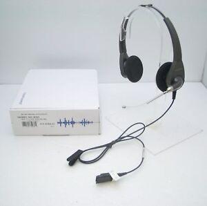 Plantronics-H101-Encore-Binaural-Voice-Tube-Headset-for-AP15-M10-M12-M22-amp-MX10