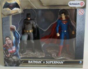 Schleich-22529-Batman-und-Superman-Scenery-Pack-Comic-Action-Sammel-Figuren-NEU
