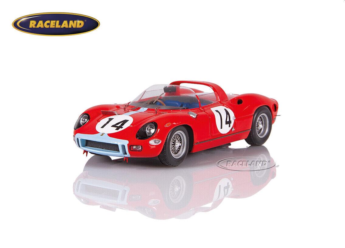 Ferrari 330 P Maranello Concessionaires Le Mans 1964 Hill Bonnier Looksmart 1 43