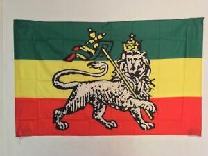 Drapeau Reggae / Rasta Flag / Bob Marley / 145 cm X 90 cm