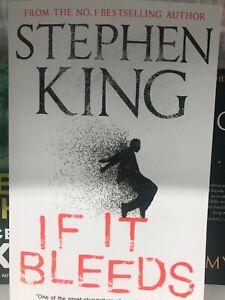 If It Bleeds Book By Stephen King Best Seller Brand New Bargain Ebay