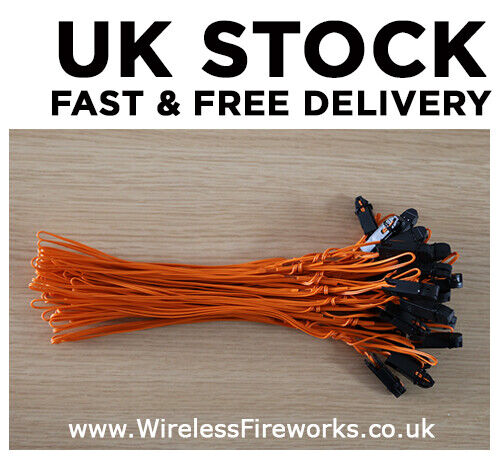 For Firing Systems Electric Fuse 2m Talon Igniters 200cm UK STOCK
