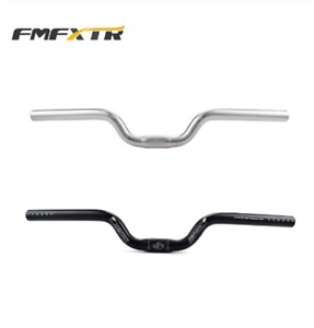 FMF Bicycle Aluminum Alloy MTB Mountain Bike Short Rise Up Handlebars 25.4*520mm