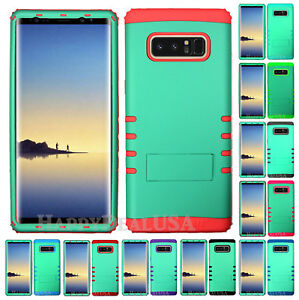 For-Samsung-Galaxy-Note-8-KoolKase-Hybrid-Silicone-Cover-Case-Pearl-Green-FL