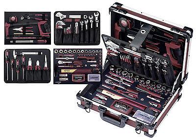 Kraftwerk 3946 Profi Alu Werkzeugkoffer Alupro 151 Tlg. Werkzeug Eva Einlagen Modische Muster