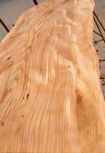 Mensola Sospesa per Lavabo Design in cedro del Libano