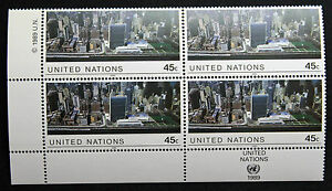 Vereinten-Nationen-New-York-Briefmarke-Briefmarke-Yvert-Und-Tellier-N-542-x4