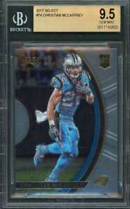 Christian-Mccaffrey-Rookie-Card-2017-Select-74-Carolina-Panthers-BGS-9-5