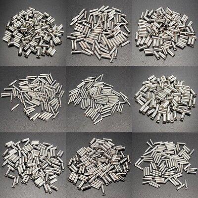 100 Pcs Cosse Non Isolée Bootlace Virole Assortiment Crimp Terminal 0.5-16mm²