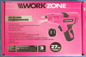 WorkZone-Screw-Driver-4-volt-Li-On-Cordless-Battery-Pink-1-Xfinity-Gardenline