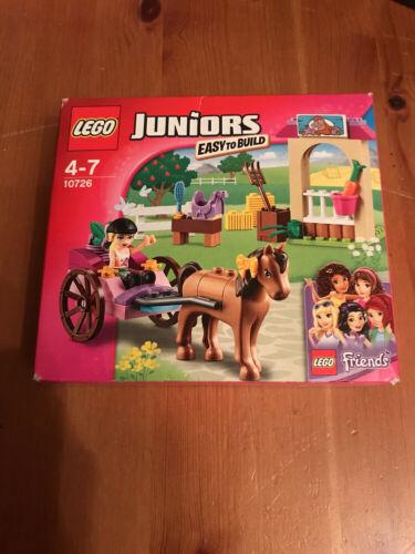 LEGO FRIENDS JUNIORS 10726 STEPHANIE'S HORSE CARRIAGE B//NEW CHECK DESCRIPTION.