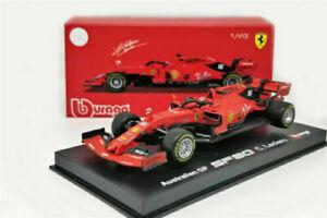 Bburago-Signature-Ferrari-Charles-Leclerc-F1-SF90-Die-cast-1-43-2019-PREORDER