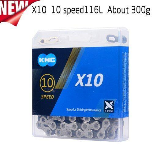 KMC X10 X10.93 MTB Road Bike Chain 116L 10 Speed for Shimano SRAM Campagnolo