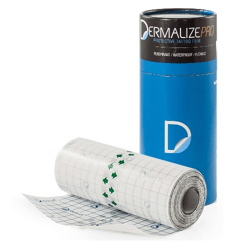 Dermalize Pro Tattoo Aftercare Roll Coverup Film - 10 Metre Roll
