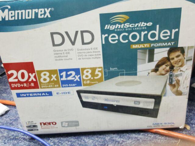 MEMOREX DVD 530L WINDOWS 8 X64 TREIBER