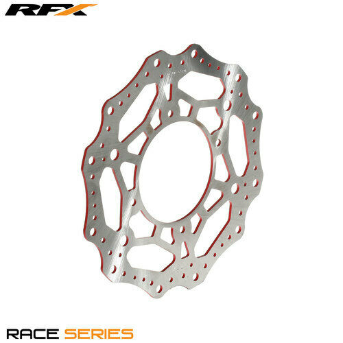 For RFX Race Front Brake Disc (Red) Honda CR80/85 96-07 CRF150 07-16