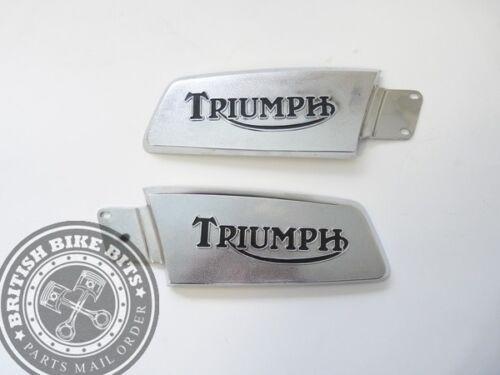 Genuine NOS Right Hand Tank Badge Triumph T150 Trident