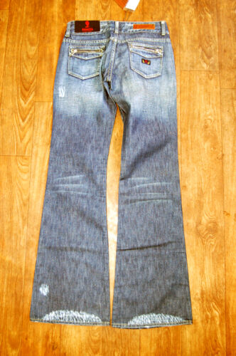 donna Old Payota Denim Stock Jeans New 25 W b 32 Bootcut L da X4qU5