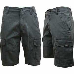 Mens Wrangler Cargo Hiker Stretch Shorts Cotton Summer Casual Work Pant 30-48