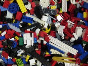 1 Kg Lego Environ 700 Pièces Pierres Articles Au Kilo Roues Parties Spéciales