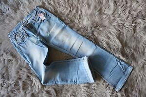 26fe1c284cf9f Brand New Reign Women s Jeans Blue Low-Rise Boot Cut Curvy W29