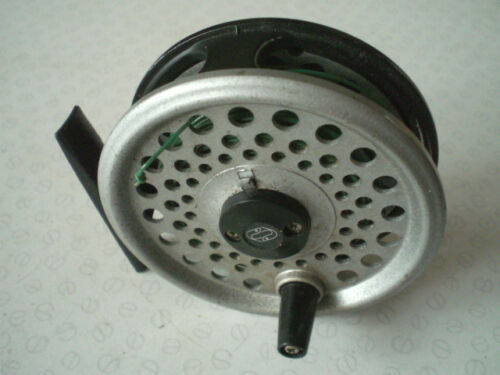 "A GOOD VINTAGE 3 38"" INTREPID RIMFLY LIGHTWEIGHT TROUT FLY REEL"