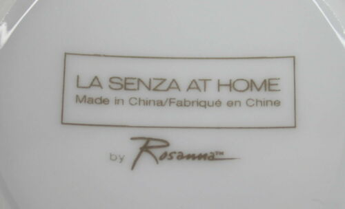 Details about  /La Senza At Home by Rosanna Hot Chocolate Mug Set of 2 Brown With Pink Letters