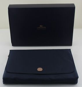 Lacoste-Parfums-Navy-Blue-Toiletry-Travel-Bag-Clutch-Brand-New-in-Box