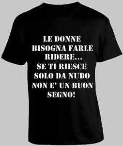 Frasi Divertenti Donne Ridere Nudo Maglia Maglietta T Shirt Tshirt