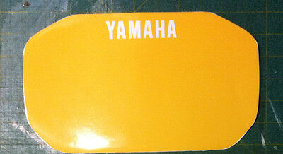 YAMAHA XT 600 Z TENERE 1VJ 86 Tabella G.  - adesivi/adhesives/stickers/decal
