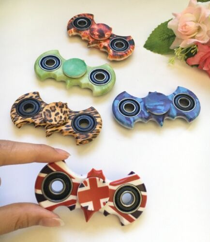BATMAN SPINNER Fidget Hand Main Jeu roulement 3D Anti-Stress EDC ADHD Enfants ++