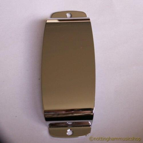 Chrome jazz pickup cover plate for vintage JB electric bass style guitar new