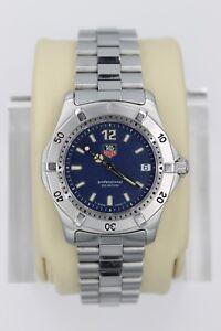 324d846b0ec7 Tag Heuer WK1213.BA0318 BLUE 2000 Classic SS Watch Womens Mens ...