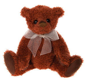 Jersey Keyring / clip collectable plush teddy bear by Charlie Bears - KR161623F