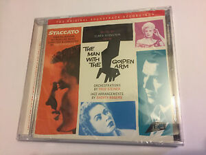 STACCATO-MAN-WITH-THE-GOLDEN-ARM-Bernstein-OOP-Soundtrack-ScoreOST-CD-SEALED