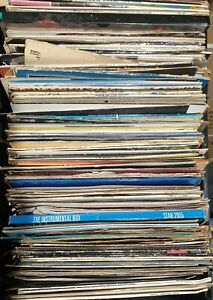 RECORD-STARTER-COLLECTION-9-X-12-VINYL-MIXTURE-Rock-Jazz-Mix-Vinyl-Records