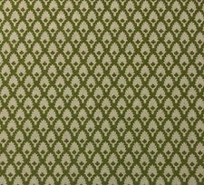 "BALLARD DESIGNS GILLIAN OLIVE GREEN GEOMETRIC PALM FABRIC BY THE YARD 55""W"