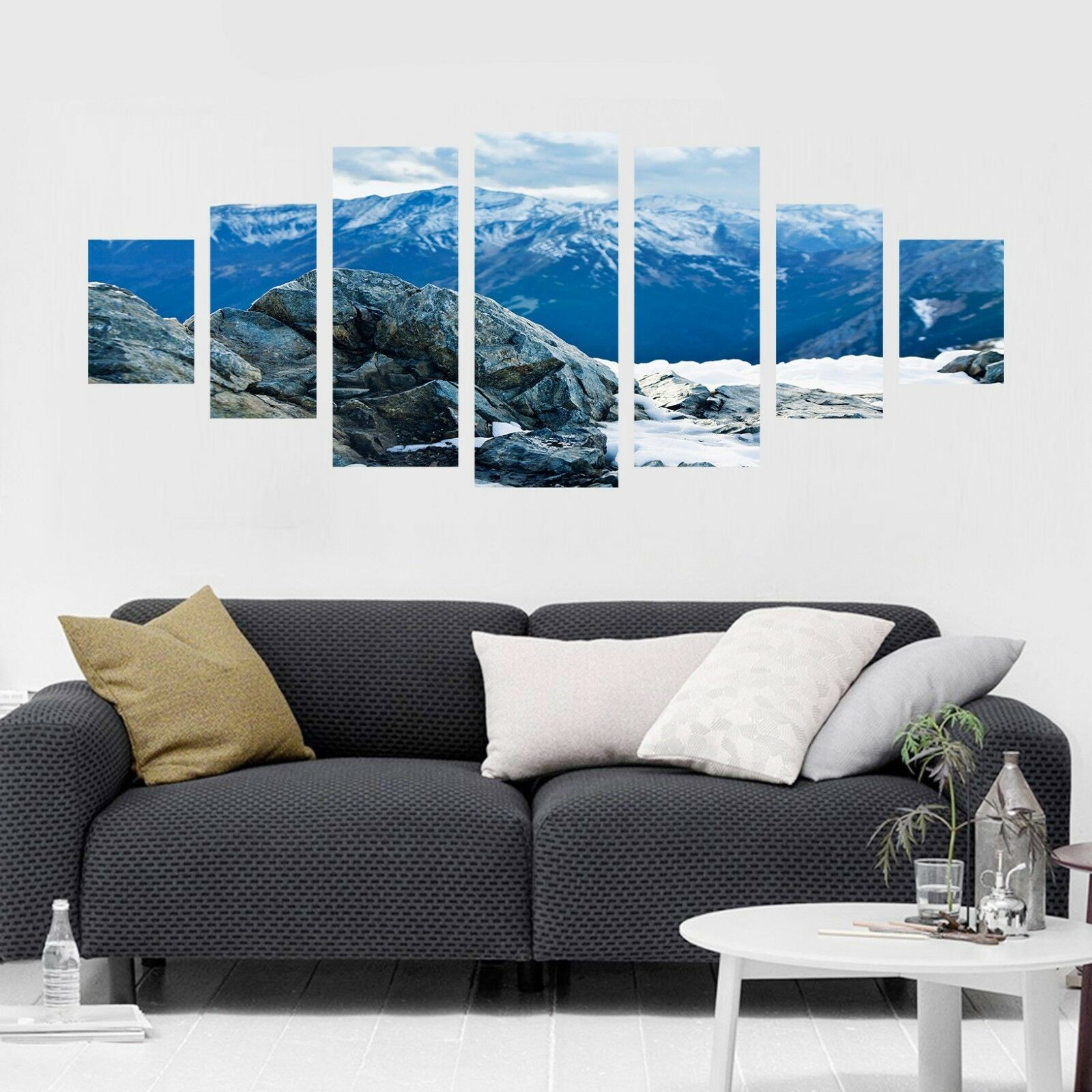 3D Snow Mountain 676 Unframed Print Wall Paper Decal Wall Deco Indoor AJ Wall