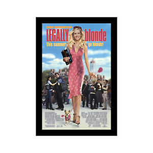 LEGALLY-BLONDE-11x17-Framed-Movie-Poster-by-Wallspace