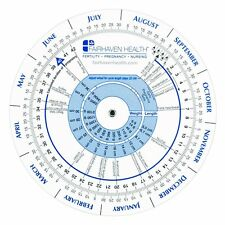 Fairhaven Health TTC Pregnancy Ovulation Prediction Fertility Calendar Wheel