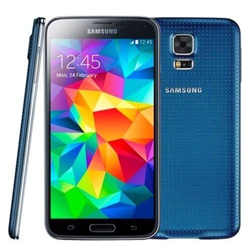 "Original SmartPhone 4.5"" Samsung Galaxy S5 MINI SM-G800F Factory Unlocked(BLUE)"