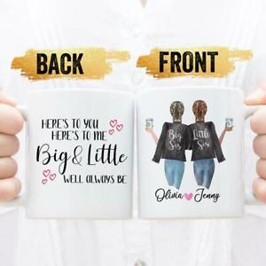 Big Sister Little Sister Mug Sorority Sister Gift Big Sister Gift Little Sister Ebay