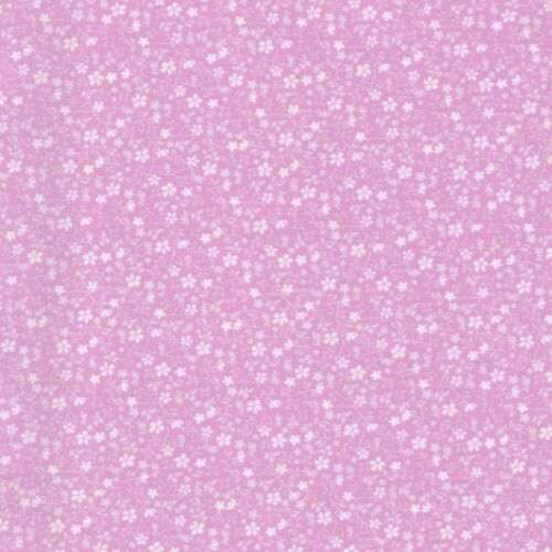 Ditsy Light Pink Tiny Allover Floral 100/% Cotton Fabric Quilting Dressmaki