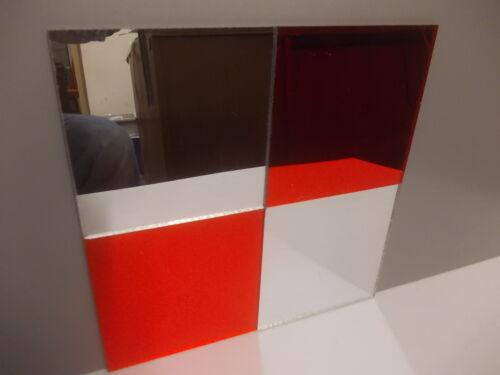 3 mm A3-A4-A5-A6 Plaskolite Perspex Acrylique Miroir Feuille 12 Couleurs